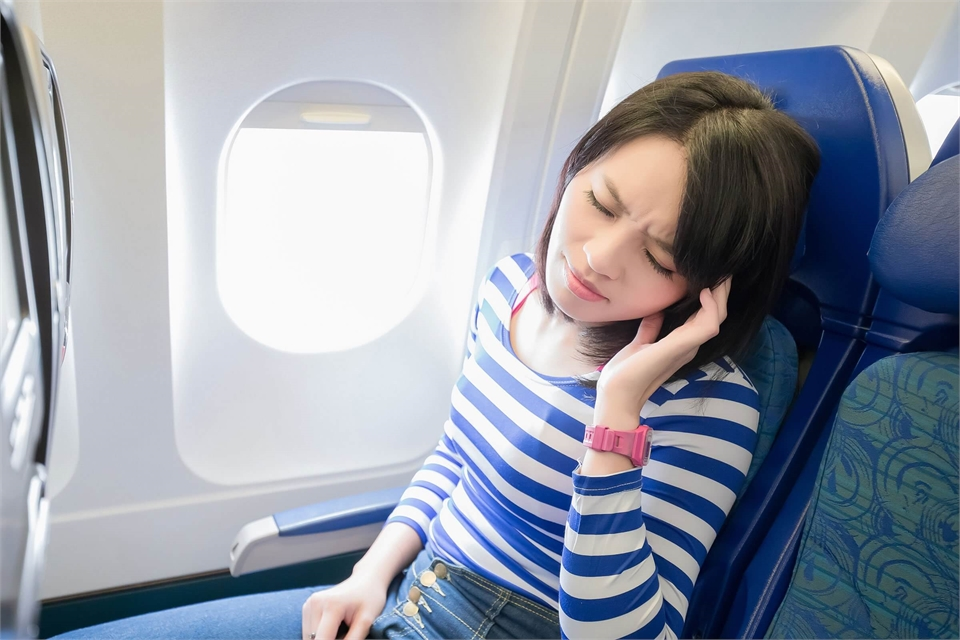 Aerodontalgia is severe toothache, caused by the change in pressure, when fling on airplane